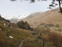 Helvellyn hike at Lake District, Cumbria, England UK Royalty Free Stock Image