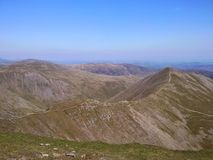 Helvellyn, Lake District Royalty Free Stock Images