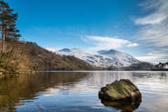 Helvellyn in Winter Stock Photography