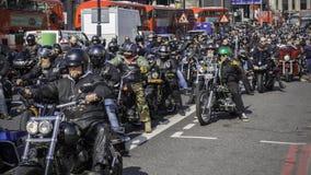 Helveteänglar i London 2017 arkivfoto