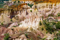 Helvete kök, Marafa kanjon, Kenya Royaltyfria Foton