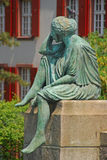 Helvetia On Her Travels stock image