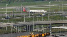 Helvetic Airways samolot taxiing w Monachium zdjęcie wideo