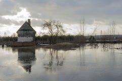 Hem- översvämning Arkivbilder