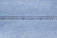 Hem. Hem of the jeans trousers Stock Image