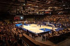 Hem- arena av basketklubban Parma Arkivbild