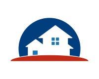 Hem- bostads- symbol Arkivfoton