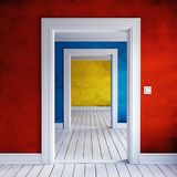 Hem- dörröppningsinre Arkivfoton