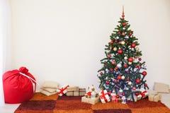 Hem- dekor för jul och nytt år royaltyfria bilder