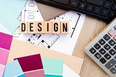 Hem- design - inre dekorera arkivbild