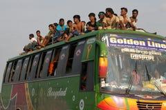 Hem- destinerat folk sista dag av Eid-ul-Adha Royaltyfria Foton