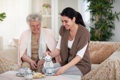 Hem för mormor` s royaltyfri fotografi