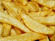 Hem- Fried Potatoes slut upp Arkivbild