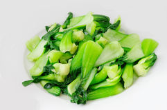 Lagad mat kinesisk kål Arkivbilder