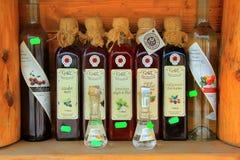 Hem gjord sirap och konjak från Praid Royaltyfria Foton