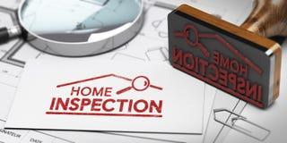 Hem- inspektör-, köpare- eller säljareegenskapskontroll Fotografering för Bildbyråer