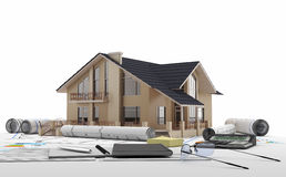 Hem- köp - Real Estate royaltyfri illustrationer
