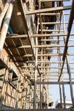 Hem- konstruktion Arkivfoto