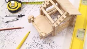 Hem- konstruktionsprocess lager videofilmer