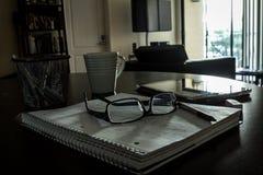 Hem- miljö för att studera/som arbetar Royaltyfri Foto
