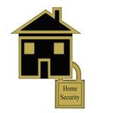 Hem- säkerhetsbegrepp Arkivfoton