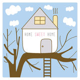 Hem- söt home7 Arkivbilder