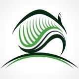 Hem- symbol för abstrakt begrepp Fotografering för Bildbyråer