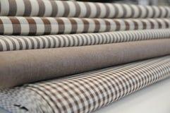 Hem- textiler Royaltyfria Bilder