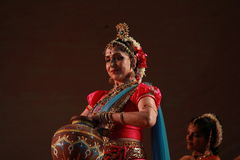 Indian Classical Dance Stock Images