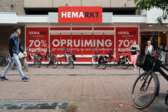 Hema Outletstore Royalty Free Stock Image