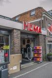 HEMA Store At Weesp The Países Baixos 2018 fotos de stock