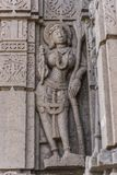 Hemadpanti shiva świątynia, Hottal, maharashtra zdjęcie stock
