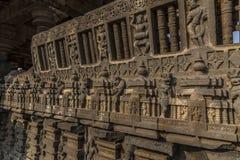 Hemadpanti shiva świątynia, Hottal, maharashtra obraz stock