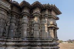 Hemadpanti-shiva Tempel, Hottal, Maharashtra lizenzfreies stockfoto