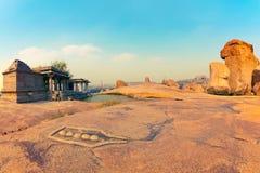 Hemakuta Hill in Hampi Royalty Free Stock Image