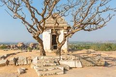 Hemakuta hill temple, Hampi, Karnataka, India. Hemakuta hill temple in Hampi, Karnataka, India, Asia stock photo