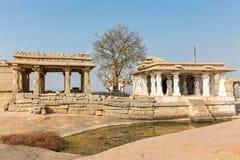 Hemakuta hill temples, Hampi, Karnataka, India. Hemakuta hill temples, Hampi in Karnataka, India, Asia stock photos