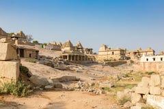 Hemakuta hill temples, Hampi, Karnataka, India. Hemakuta hill temples in Hampi, Karnataka, India, Asia stock photography