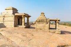 Hemakuta hill temples, Hampi, Karnataka, India. Hemakuta hill temples in Hampi, Karnataka, India, Asia royalty free stock image
