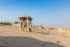 Hemakuta hill temples, Hampi, Karnataka, India. Hemakuta hill temples in Hampi, Karnataka, India, Asia stock photos