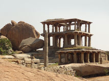 Hemakuta Hill at Vijayanagara Royalty Free Stock Photography