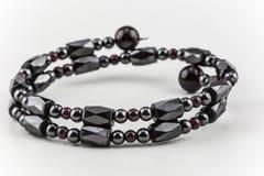 Hematite Bracelet Stock Image