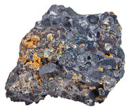Hematite (iron ore) with magnetite crystals Stock Images