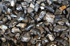 Hematite mineral background Stock Photography