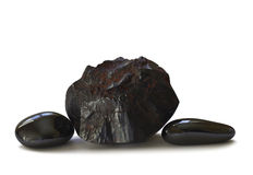 Hematite - polished and natural Royalty Free Stock Photography