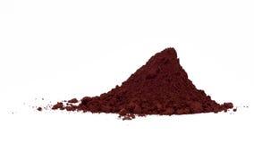 Hematite powder Stock Images