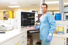 Hematology Analysis Stock Photography