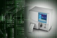 Hematology analyzer Stock Photo