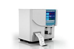 Hematology analyzer Stock Photo