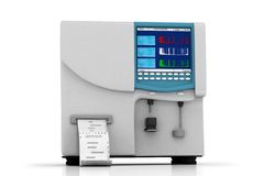 Hematology analyzer Royalty Free Stock Image